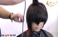 آموزش کوتاه کردن مو مدل خرد گرد