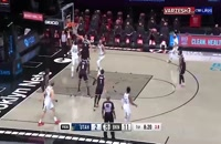 مسابقه بسکتبال بروکلین نتس - یوتا جاز