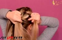 فیلم آموزش بافت شل مو + مدل مو خرگوشی