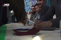 حضور مردم تهران پای صندوق های رای