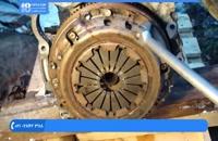 آموزش تعمیر موتور تویوتا - میل لنگ بازکردن موتور