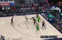 خلاصه بازی بسکتبال یوتاجاز - پورتلند بلیزرز