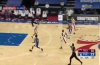 خلاصه بازی بسکتبال فیلادلفیا سیکسرز - میامی هیت