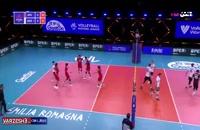 خلاصه بازی والیبال ژاپن - آلمان