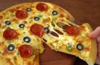 دستور پخت خمیر پیتزا