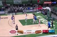 خلاصه بازی بسکتبال میلواکی باکس - پورتلند بلیزرز