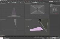 Adding edges with Quickslice آموزش مدلینگ تری دی مکس