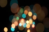 ویدیو فوتیج بوکه های رنگارنگ 11