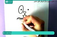 کشیدن نقاشی ساده با قلب برای کودکان