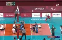 والیبال نشسته ایران - برزیل