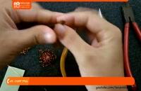 آموزش ساخت زیورآلات | زیورآلات مسی | زیورآلات دست ساز (انگشتر با سنگ الکساندریت)