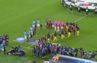 خلاصه بازی بارسلونا 1 - ناپولی 1
