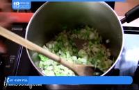 آموزش آشپزی با هایلا - سوپ سیب زمینی