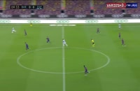 خلاصه بازی تیم های بارسلونا 1 - اسپانیول 0