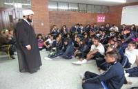 Enseñar el rezo islámico a los jovenes cristianos #Sheij #SheijQomi #Sheij_Qomi