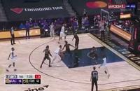خلاصه بازی بسکتبال تورنتو رپترز - لس آنجلس لیکرز