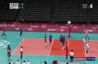 خلاصه والیبال فرانسه - آرژانتین