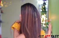 فیلم آموزش درخشان سازی مو با ماسک