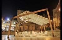 سقف متحرک باغ رستوران-پوشش برقی اتوماتیک رستوران-پوشش  بازشونده تالار عروسی-سقف اتومات کافه ورستوران