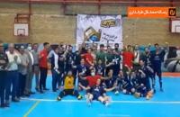 تیم کراپ الوند ایرانیان راهی مسابقات لیگ برتر فوتسال کشور شد .