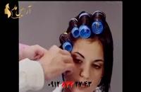 فیلم آموزش حالت دادن مو + آرایش مو کوتاه با بیگودی