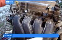 تعمیر موتور تویوتا - مانیفولد بازکردن موتور