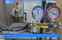 آموزش تعمیر کولر گازی و چک کردن مناسب مبرد