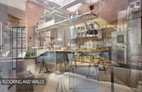 نمونه طراحی آشپزخانه صنعتی مدرن