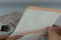 لیبل و کاغذ مومی