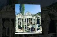 مجسمه فایبرگلاس   آلاچیق فایبرگلاس