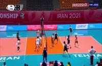 خلاصه والیبال ایران - لهستان (زیر 19سال)