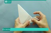 آموزش ساخت اوریگامی جت هوایی به صورت حرفه ای