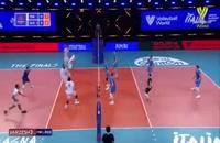 خلاصه بازی والیبال فرانسه - اسلوونی