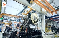 روند تولید کامیون های man