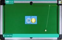 آموزش بیلیارد   برش توپ در حرکت ریلی