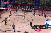 خلاصه بازی بسکتبال تورنتو رپترز - بوستون سلتیکس