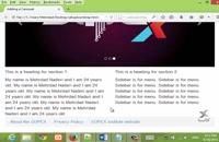 قسمت هشتم آموزش فریم ورک بوت استرپ (Bootstrap) برای طراحی وبسایت