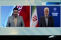 مهرعلیزاده پای سوالات مجری اخبار - انتخابات 1400