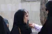 حامیان روحانی در جمع حامیان رئيسى در مصلای تهران!