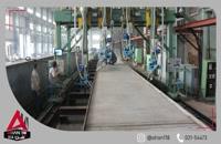جوشکاری  فولاد با دستگاه نیمه اتومات