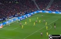 خلاصه بازی اتلتیکو مادرید ۳ - ویارئال ۱
