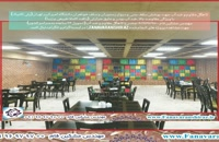 کاهگل ضد آب جهت پوشش سقف بتنی و دیوار سلف دانشگاه امیرکبیر - مقاوم و قابل شستشو