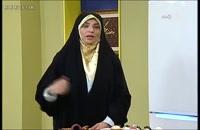 خانم صادقی آموزش تهیه نوشیدنی هلو