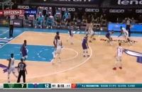 خلاصه بازی بسکتبال میلواکی باکس - شارلوت هورنتس