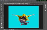 آموزش ایجاد تصویر دنباله دار در فتوشاپ