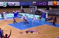 خلاصه بازی بسکتبال مهرام تهران - نفت آبادان