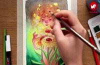 آموزش آنلاین تصویرسازی تصویرگران پویا اندیش