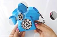 کاردستی تلفن برای کودکان