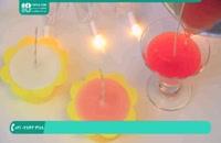 آشنایی با لوازم ساخت شمع سازی به طرح کاپ کیک