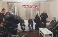 دیدار سردار حاجی زاده و نقدی با خانواده شهدای هواپیمای اوکراینی